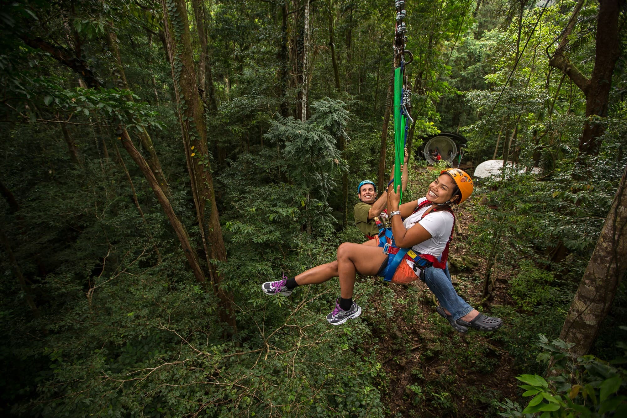 jungle surfing cape tribulation daintree rainforest zipline canopy tour