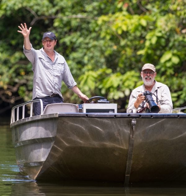 daintree river rainforest cruise with birdwatching and croc spotting